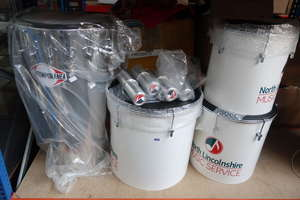 A quantity of as new drums to include one Contemporanea Timba.