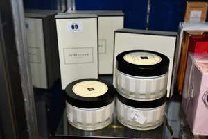 Four Jo Malone body cremes...