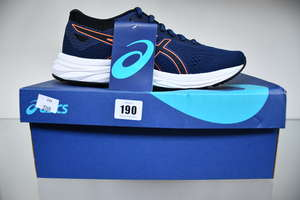 Two pairs of as new Asics...