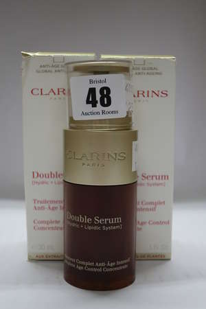 Three Clarins double...
