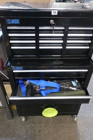 A SGS tool box on wheels...