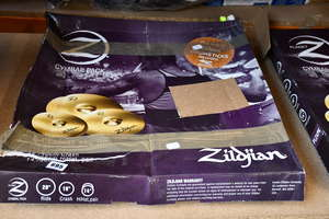 One boxed as new Zildjian...