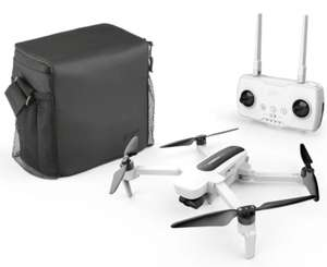 Hubsan H117S Zino Drone 1KM FOV QuadCopter 4K Camera GPS White With Carry Case.