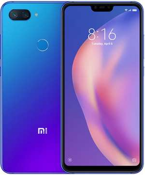 A boxed as new Mi 8 Lite...