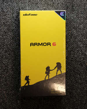 A boxed as new uleFone...