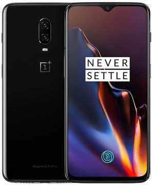 A boxed as new OnePlus 6T A6013 8GB/128GB in mirror black EEA.