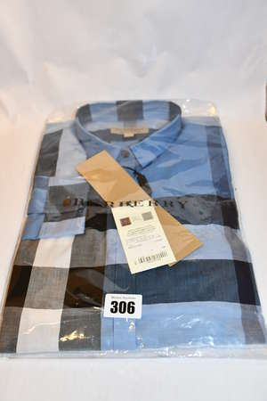 An as new Burberry checked...