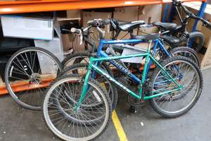 Four pre owned pushbikes...