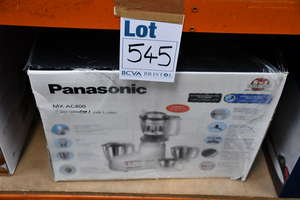 One boxed as new Panasonic MX-AC400 mixer grinder.