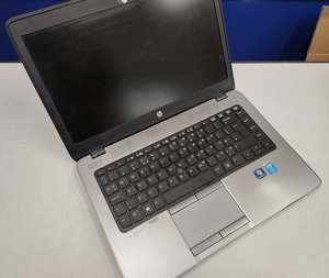 A pre-owned HP EliteBook 840 G1 14 Core i5 Laptop in Black (Serial: 5CG4421RSJ) (HDD removed