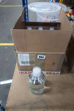 Twelve 500ml bottles of Silicium Organique G5 preservative-free drinkable silicon (07/09/2021).