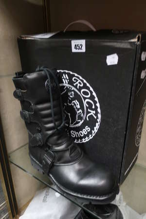 A pair of as new Newrock...