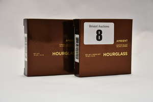 Fourteen boxed as new assorted Hourglass Ambient cosmetics to include Strobe Lighting Powder (4