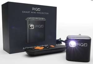 A boxed as new Piqo Smart Mini Projector