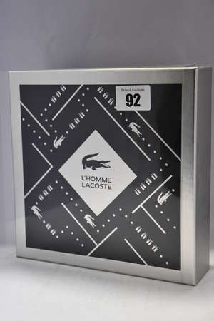 Three Lacoste L'Homme...