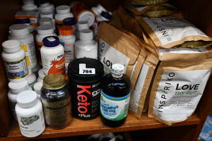 A quantity of as new health and fitness supplements to include Sports Research Keto plus