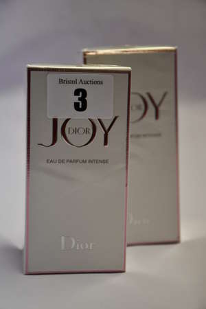 Two boxed as new Dior Joy eau de parfum Intense (1 x 90ml, 1 x 50ml).