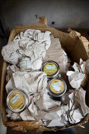 One box of as new FIT PIT natural deodorant creams in various sizes