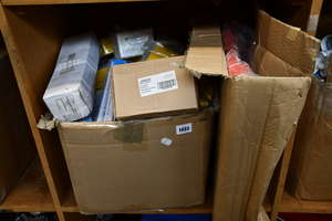 One box full of as new miscellaneous small tool parts and related items to include Silverline and Fixman.