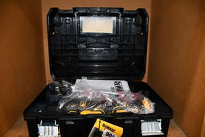 One as new DeWalt DCS355P1 18V XR brushless multi-tool with accessory kit