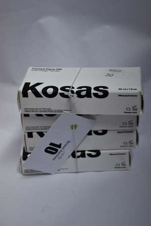 Eight as new Kosas Tinted Face Oils (30ml) in various tones.