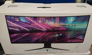 A boxed as new Alienware AW3420DW 34 Curved Gaming Monitor (DP/N: 09NV15) (Box sealed