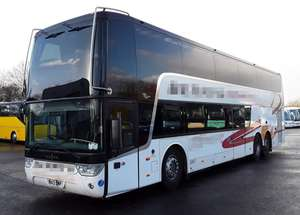 Vanhool Astromega, Registration...