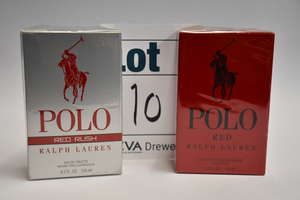 A Ralph Lauren Red eau de toilette (125ml) together with two Ralph Lauren Red rush eau de toilette (125ml).