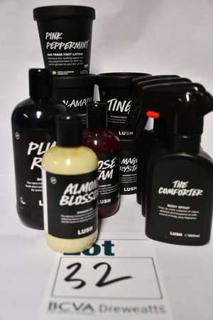 Eleven as new Lush products;...