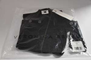 An as new Veronica Beard cashmere Uptown Dickey in black (00-14? - RRP £260).