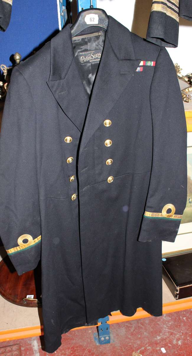 Royal navy mess dress uniform
