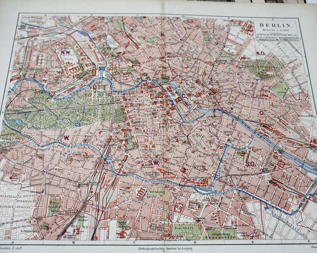 A collection of 19th century maps and prints