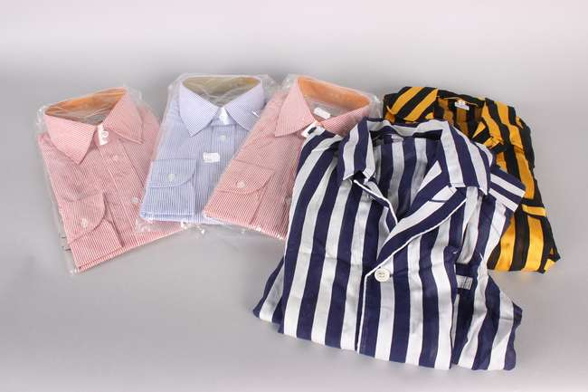 A Quantity Of Unopened Striped Cotton Mix Shirts By Austin Reed Lot 249 10 Lno List View 35 23