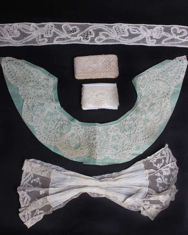 A collection of late 19th and early 20th Century lace