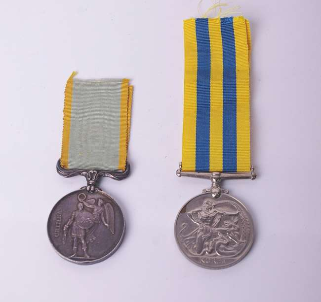 Medals: Crimea medal with ribbon | Lot 786 | No cat, 54