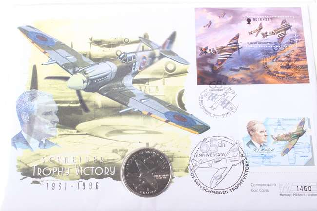 World War II Related Commemorative Coins and Stamps and