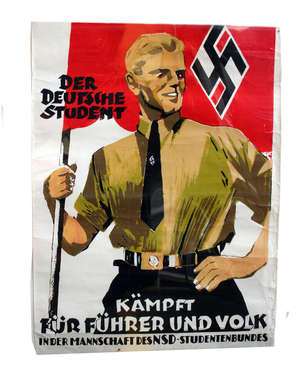Nationales Vietnamkomitee - Everything for the Struggle of Vietnamese People German text poster