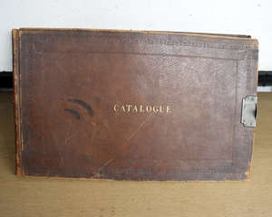 c20th 'Catalogue' sold by Sheardon & Son, brown leather