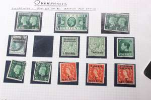 Stamps loose sheets