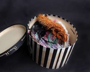 A quantity of early 20th Century millinery feathers