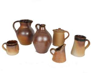 Collection of British Art pottery
