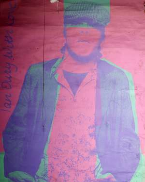 After Pietro Psaier (1936-2004) 'Ian Dury With Love' Screen print poster