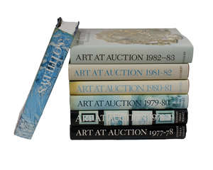 7 Books on Sotheby Art and Auction